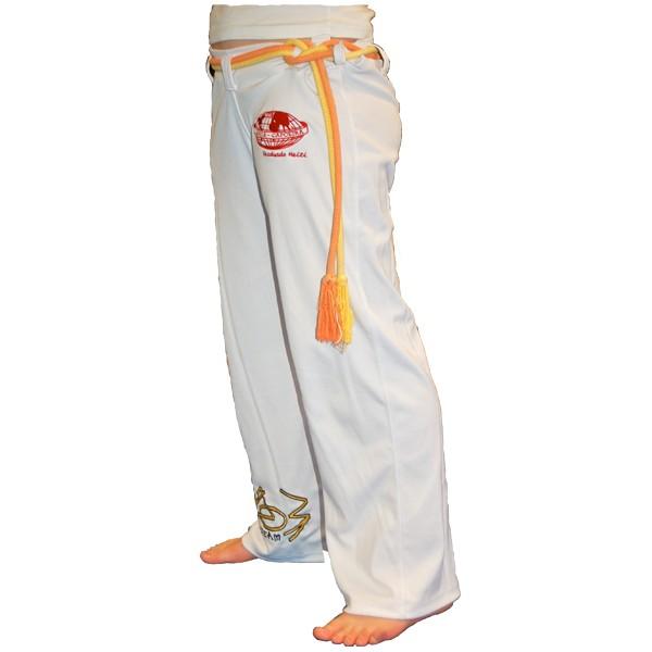 voodooteamshop pantalon de capoeira blanc pour enfants. Black Bedroom Furniture Sets. Home Design Ideas